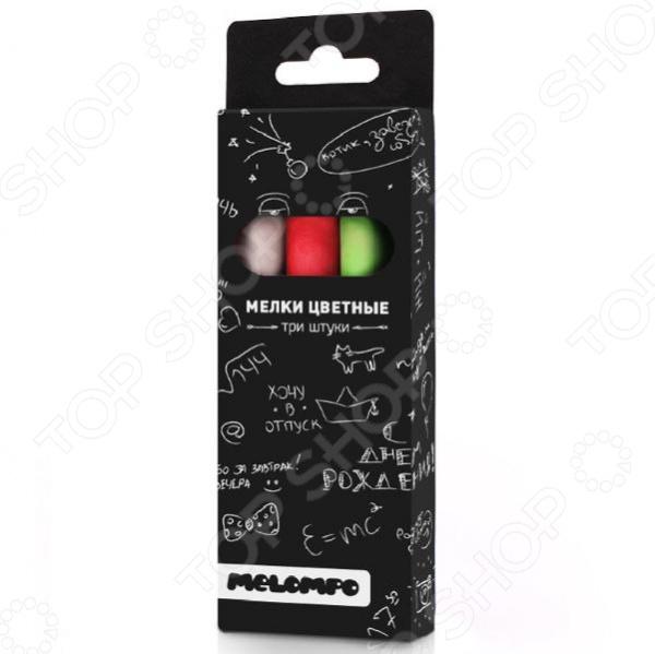 Набор мелков Melompo MEL-8 гаджет грифельная магнитная доска melompo сalendar ml0092