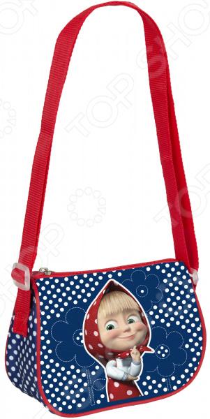 Сумка детская Росмэн 31977 миниатюрная сумочка с очаровательным рисунком, станет излюбленным аксессуаром вашего ребенка. В ней можно хранить личные вещи, тетради, книжки и прочие мелочи. Прекрасно держит форму, поэтому чтобы ребенок в ней не хранил, оно не помнется и не сломается.  Сумочка имеет одно отделение на молнии, в которое можно положить любимые игрушки или необходимые на прогулке вещи.  Длину регулируемой лямки можно установить от 28 до 48 см, поэтому аксессуар подходит девочкам разного роста.  Декорирована объемной блестящей аппликацией PVC и ярким принтом, устойчивым к истиранию и выгоранию на солнце. Яркая сумочка создана специально для вашей юной принцессы.