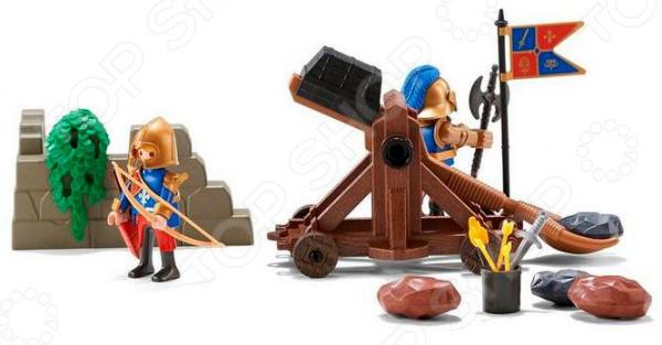 Игровой набор Playmobil «Рыцари: Катапульта рыцарей Львов» game wow lich king sylvanas windrunner figma anime darkness ranger lady pvc action figure toy brinquedos kids birthday toys 6