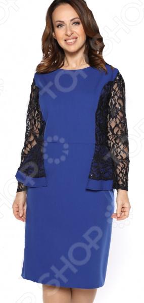 Платье Pretty Woman «Белиссимо». Цвет: васильковый мужские часы romanson tl1250mw bk bk ucenka