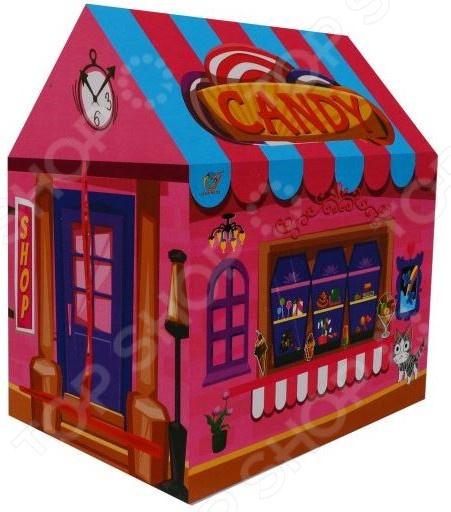 Палатка игровая Наша Игрушка «Домик» в коробке