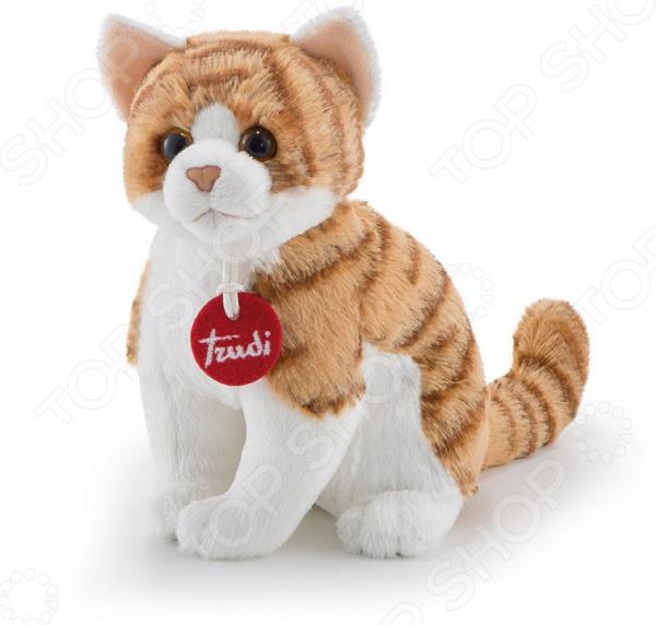 Мягкая игрушка Trudi «Полосатая кошка»