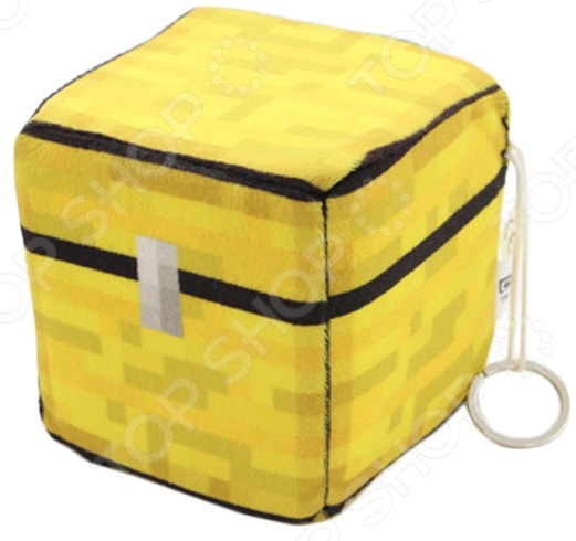Плюшевая игрушка Minecraft Chest Box игрушка lele minecraft 79159 a