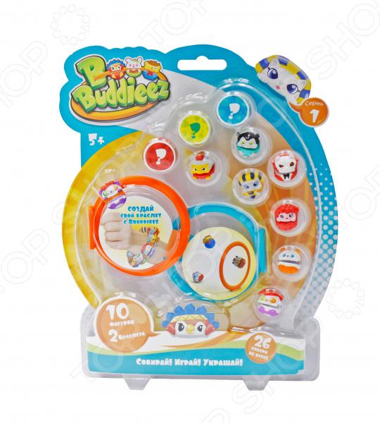 Набор шармов игрушечных 1 Toy Bbuddieez с браслетами игровой набор 1toy вантой bbuddieez набор 10 шармов 2 браслета 23 19 2см