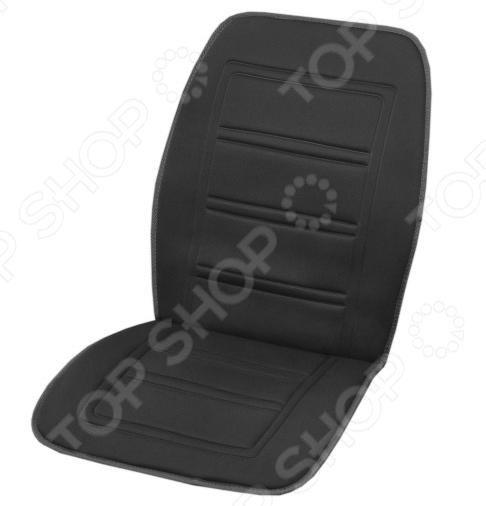 Накидка на сиденье с подогревом и терморегулятором SKYWAY «Тонкие полоски»
