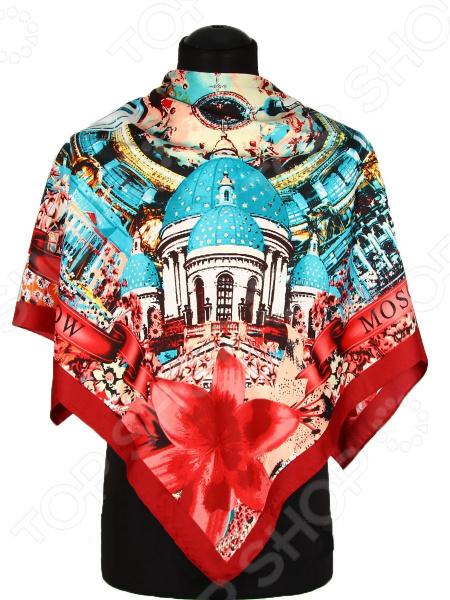 Платок Bona Ventura PL.XL-SLK5.10 недорогой платок на шею для женщин