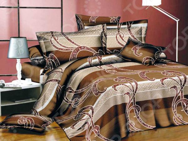 Комплект постельного белья Бояртекс «Горячий кофе». 1,5-спальный