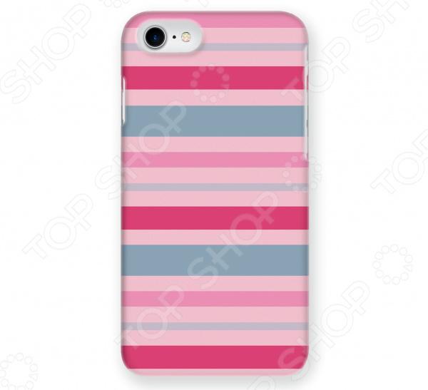 Чехол для iPhone 5 Mitya Veselkov «Полосатый принт» mitya veselkov тюльпановый принт чехол для apple iphone 5 5s