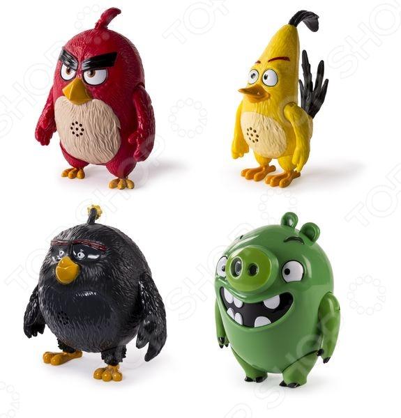 Игрушка интерактивная Angry Birds «Говорящая птица». В ассортименте