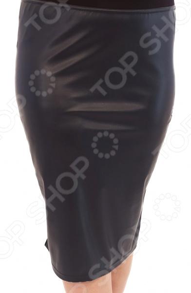 Юбка Лауме-Лайн «Модница». Цвет: темно-синий
