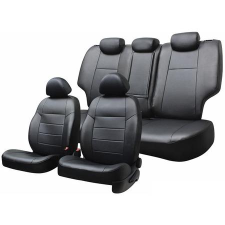 Купить Набор чехлов для сидений Defly Volkswagen Polo, 2010, седан, экокожа