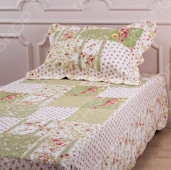 Комплект для спальни: покрывало и наволочка Santalino 806-010 для спальни