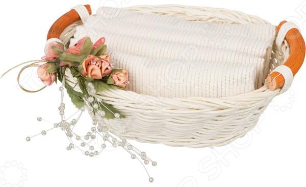Скатерть в корзинке Santalino 850-840-28 сидушка на стул santalino райский сад 850 832 5