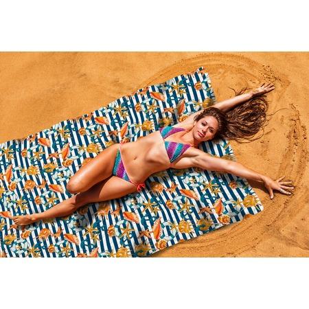 Купить Покрывало пляжное Сирень «Морские приключения»