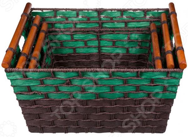 Набор плетеных корзин Miolla QL501201B