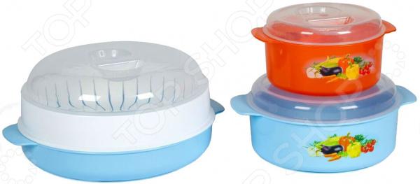 Набор контейнеров для СВЧ Полимербыт SGHPBKP30