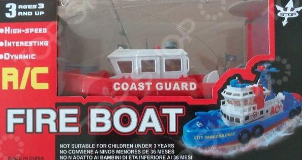 1 Toy «Пожарный катер»