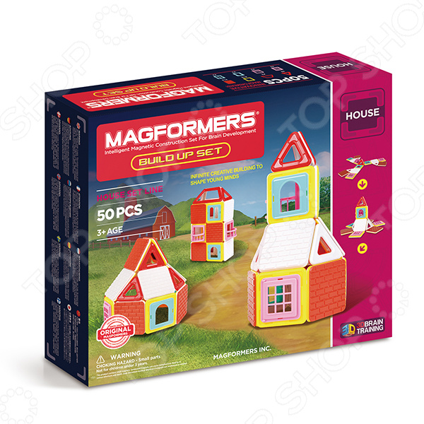 Конструктор магнитный Magformers Build Up Set magformers build up set
