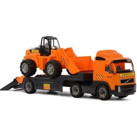 Купить Машина игрушечная с аксессуарами POLESIE Volvo «Трактор-погрузчик»