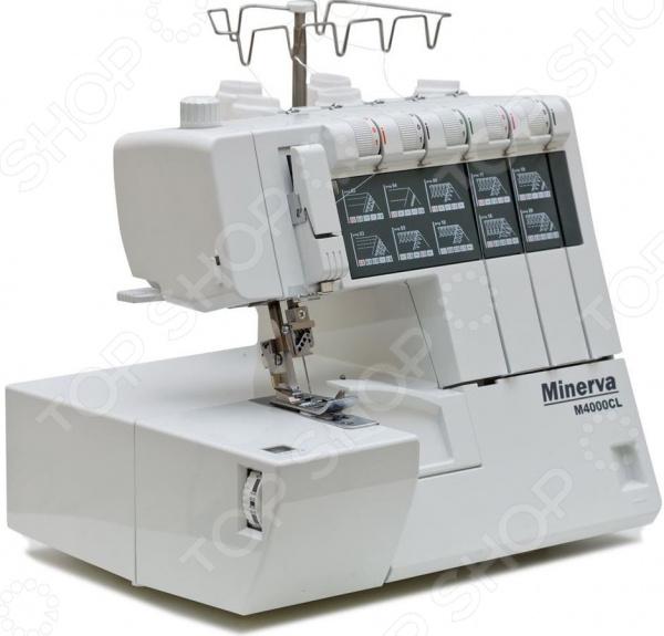 Коверлок Minerva M4000CL стол для швейной машины и оверлока комфорт 1qlw