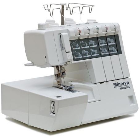Купить Коверлок Minerva M4000CL