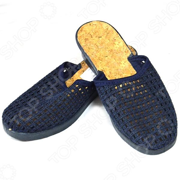 Туфли женские АЛМИ «Воздух». Цвет: темно-синий