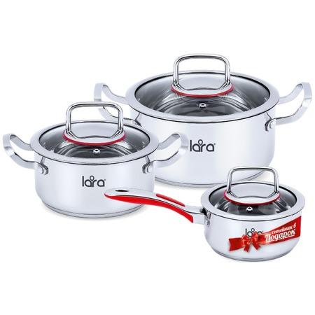 Купить Набор посуды LARA Prima LR02-108