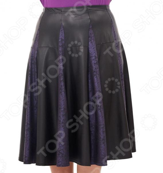 Юбка Pretty Woman «Валетта». Цвет: черный, синий юбка woman цвет черный