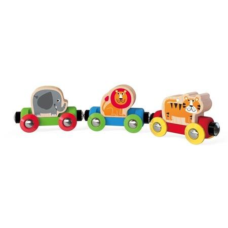 Купить Поезд игрушечный Hape «Джунгли»