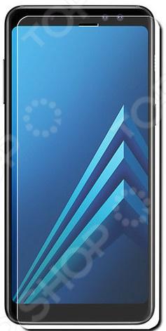Стекло защитное 2.5D Media Gadget полноклеевое для Samsung A8 Plus 2018