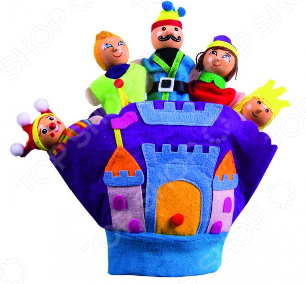 Театр пальчиковый Bradex «Королевство»