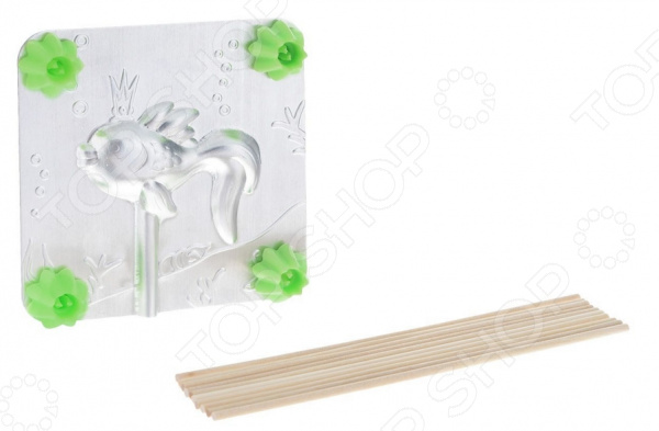 Форма для леденцов Леденцовая фабрика «Рыбка» форма для леденцов леденцовая фабрика машинка 9 5 х 9 5 см