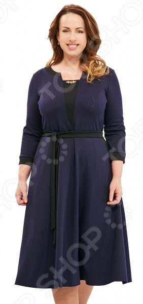 Платье Матекс «Счастливая женщина». Цвет: синий платье матекс счастливая женщина цвет синий
