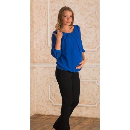 Купить Блузка для беременных Nuova Vita 1394.2. Цвет: индиго