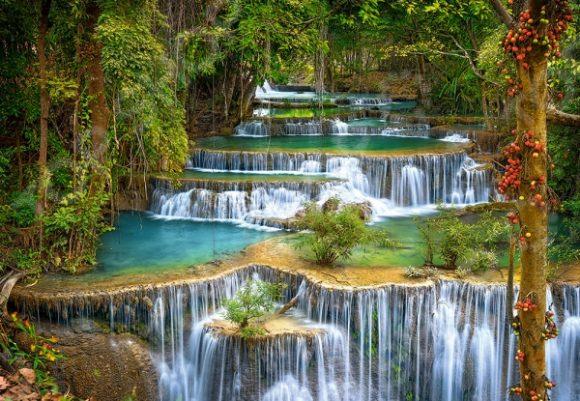 Пазл 1000 элементов Castorland «Каскад» puzzle 1000 каскад водопадов кб1000 6910