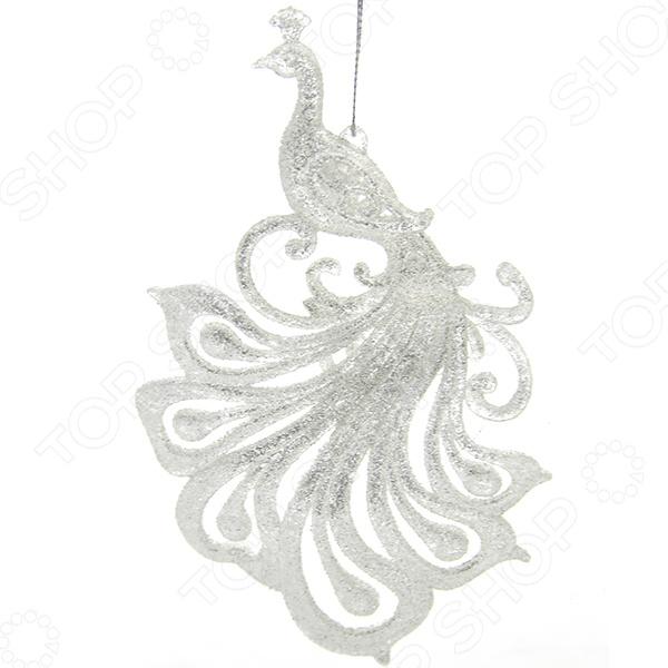Елочное украшение Crystal Deco «Королевский павлин». В ассортименте