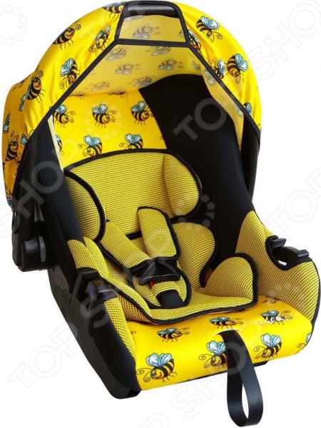 Автокресло SIGER «Эгида Люкс» ART. Рисунок: пчелка