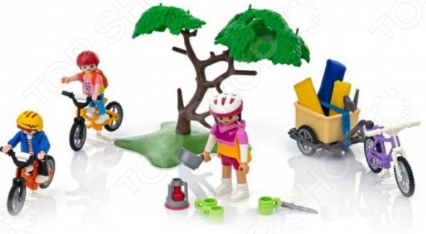 Игровой набор Playmobil «Летний лагерь: Велопрогулка»