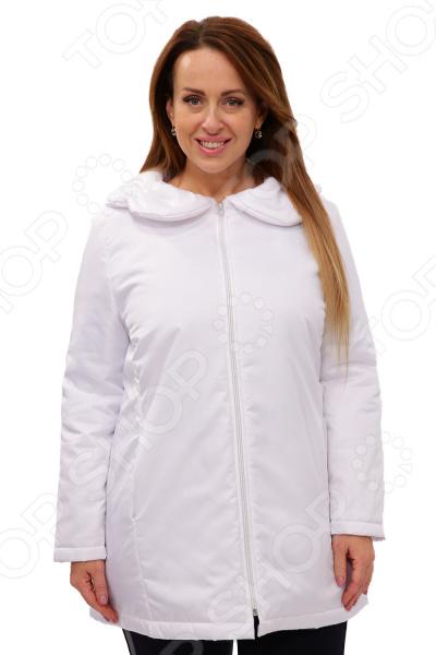Куртка СВМ-ПРИНТ «Восточный ветер». Цвет: белый