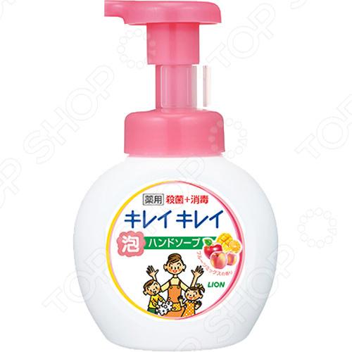 Мыло жидкое для рук Lion Kirei Kirei с ароматом апельсина цена