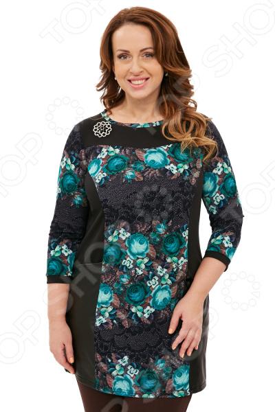 Туника Pretty Woman «Триана». Цвет: зеленый