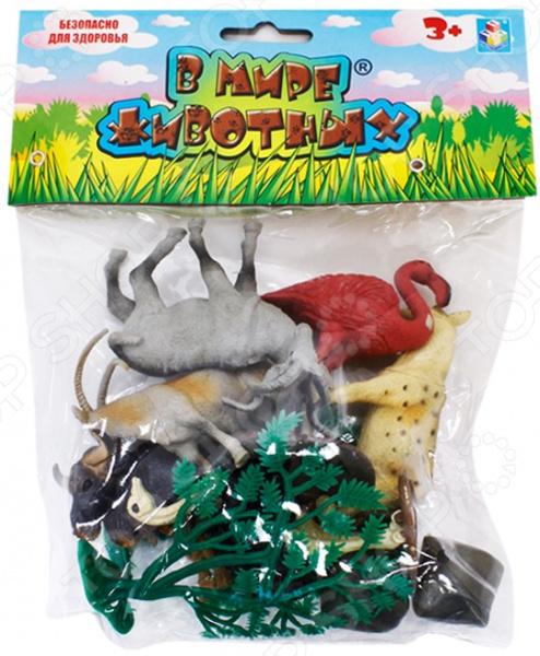 Фигурки-игрушки 1 Toy Т53855 Животные Африки фигурки игрушки 1 toy т53854 дикие животные