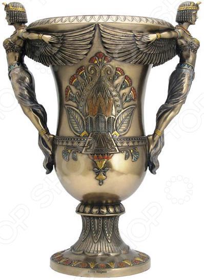 Ваза декоративная Veronese «Египетские богини» (стиль Ар-Деко)