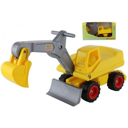 Купить Машинка игрушечная Wader «Мега-экскаватор колёсный №2»