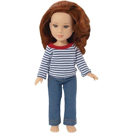 Купить Кукла Огонек «Арина с веснушками»