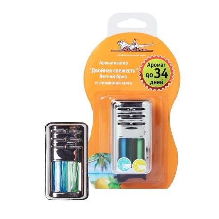 Купить Ароматизатор на дефлектор гелевый Airline «Двойная свежесть»