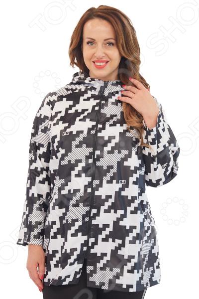 Куртка Лауме-Лайн «Леди Осень». Цвет: черный, белый