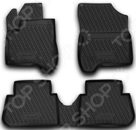 Комплект ковриков в салон автомобиля Element Citroen C3, 2009 цена