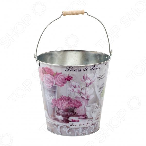 Ведро Gift'n'home «Парижские цветы»