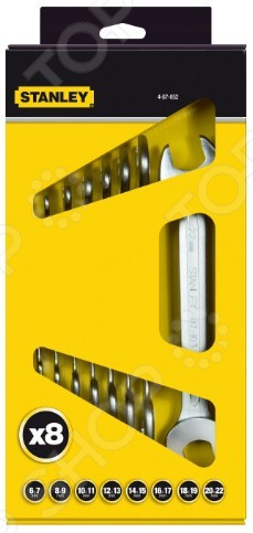 Набор рожковых гаечных ключей Stanley 4-87-052